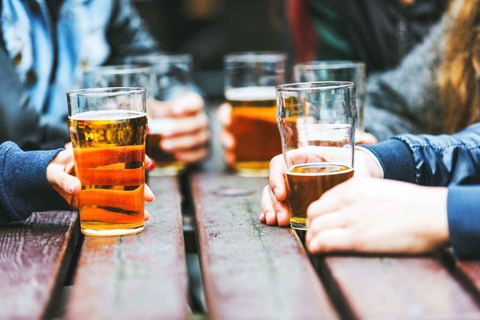 L'alcool est dommageable pour le foie