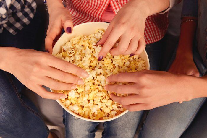 Popcorn et autres gras trans sont mauvais pour la santé