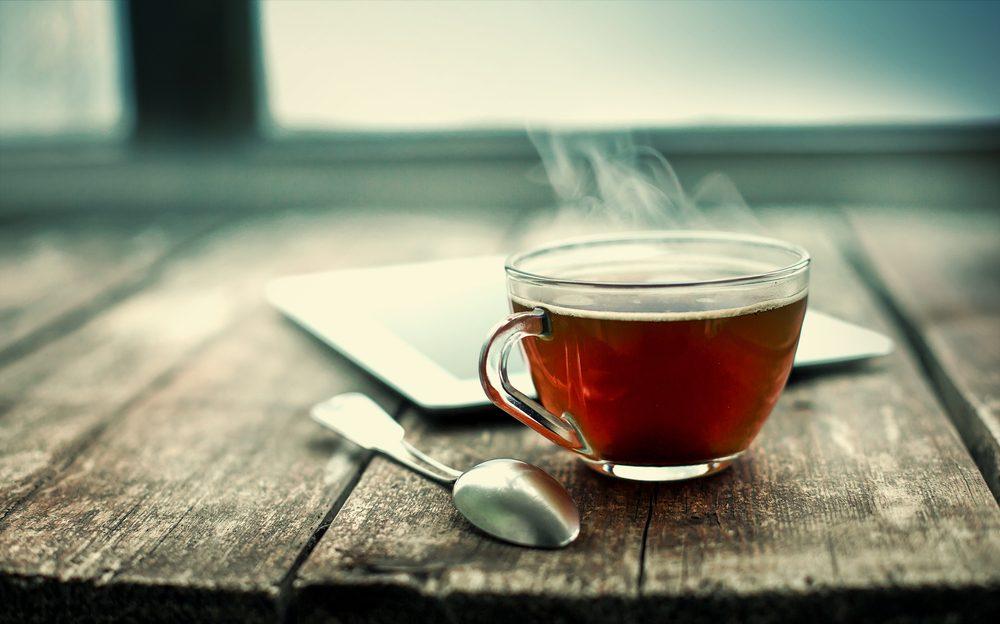 le thé aide à rester en santé