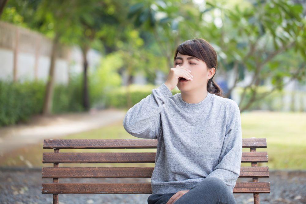 Pour rester en santé, ne pas toucher son visage