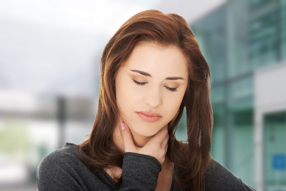 Signe de reflux gastro-oesophagien: le mal de gorge