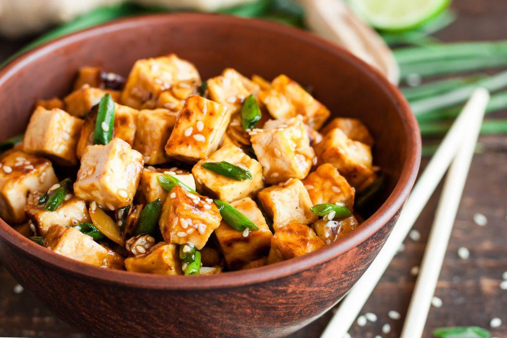 Le tofu une bonne source de fer