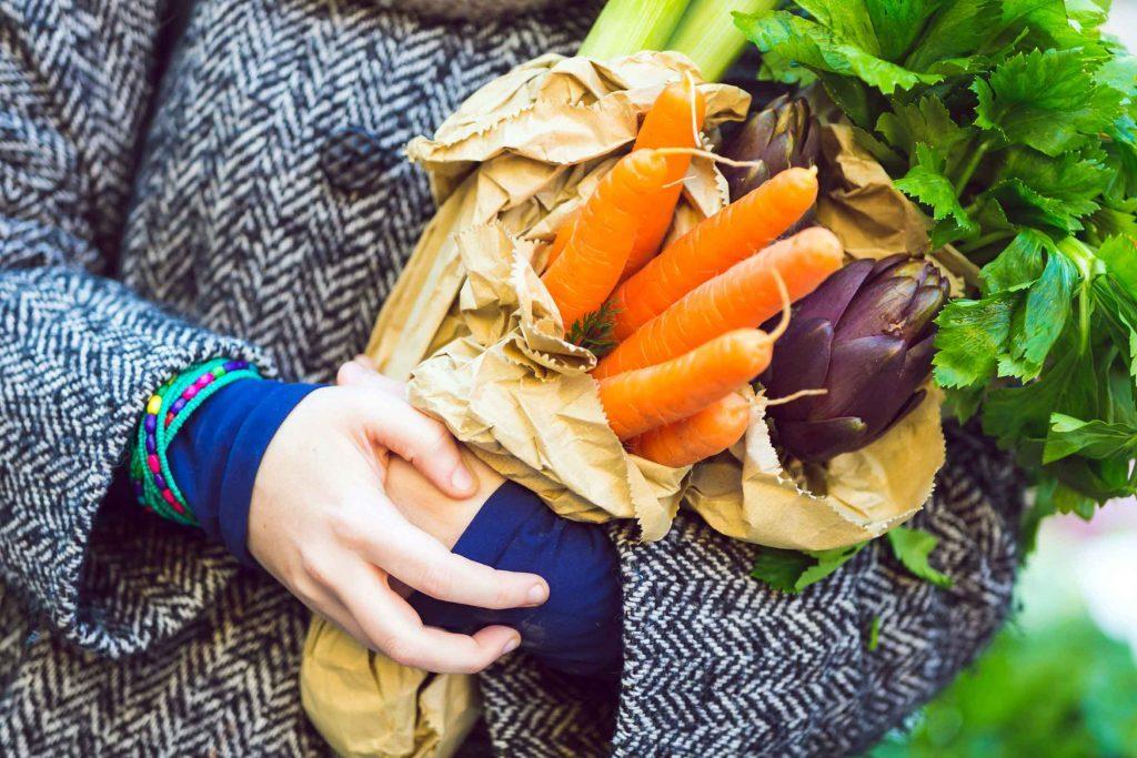 Être adulte c'est manger des légumes variés et aimer ça