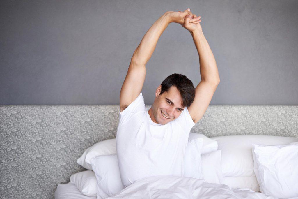 Yoga au quotidien, l'étirement matinal
