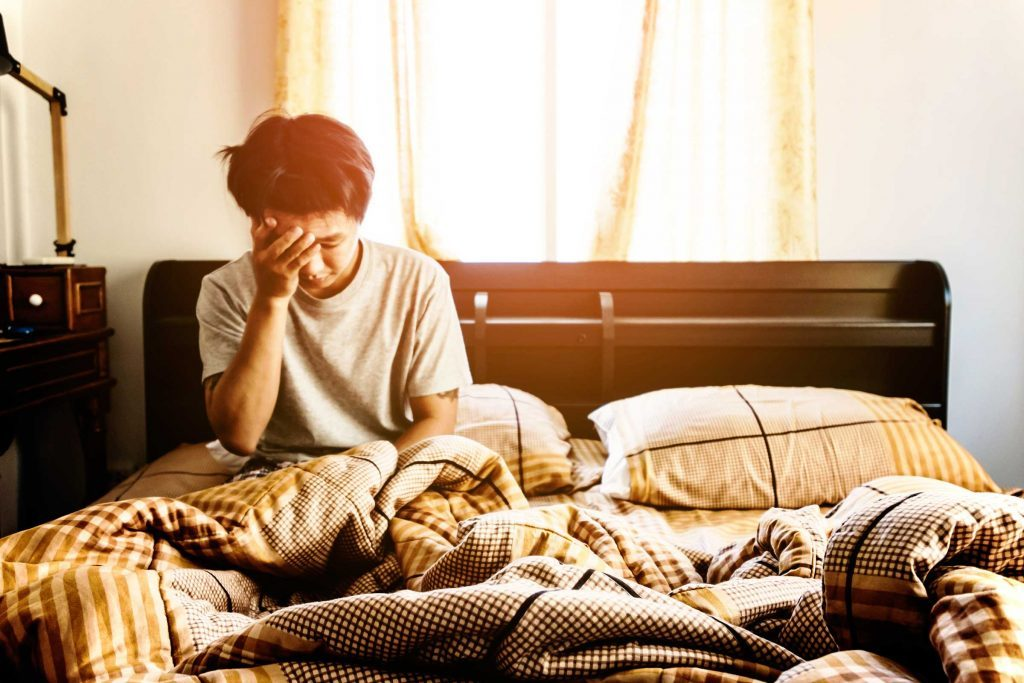 Une dépression peut se combiner avec d'autres maladies.