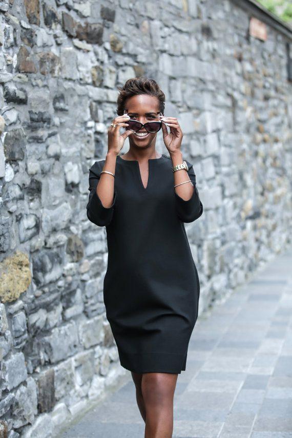 Robe noire faite à Brossard par JusteRobe