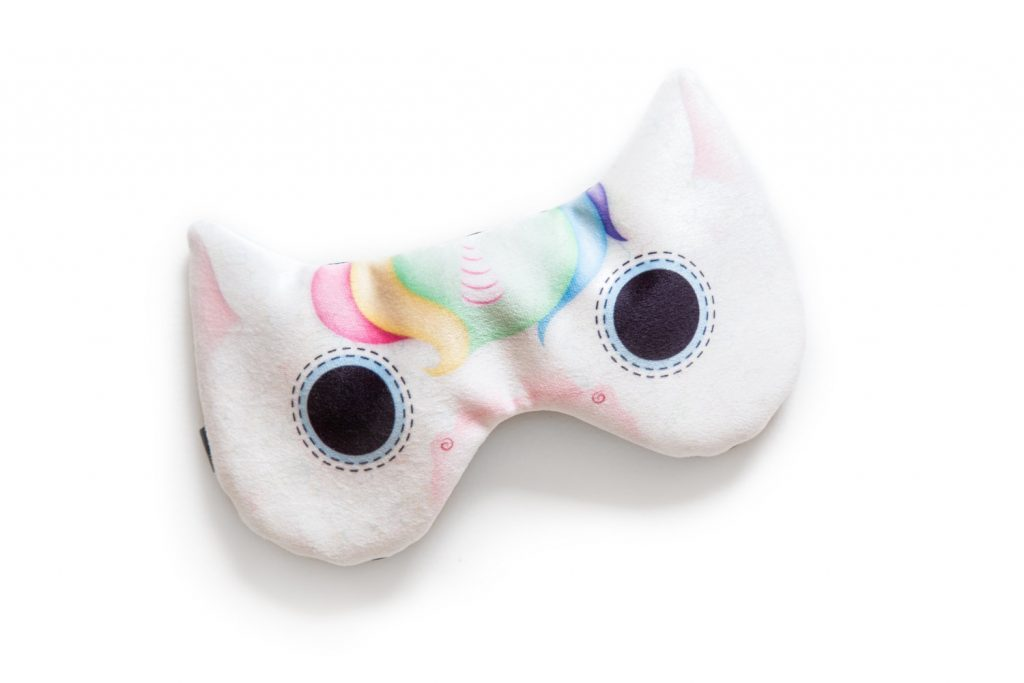 Masque de licorne fait à Montréal par AURAbyJulienandEmily