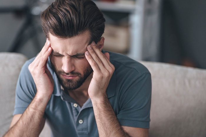 Les effets de l'anxiété peuvent être physiques