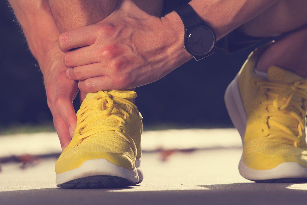 Il est important que vos souliers de spot aient la bonne taille.