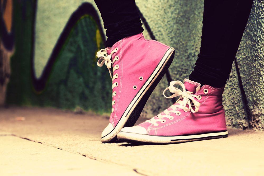 Assurez-vous que vos chaussures de sport offre un bon soutien.