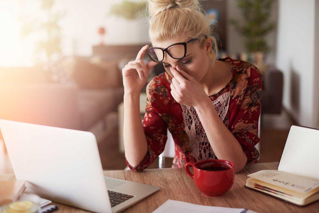 Si vous vous sentez bien, vous pouvez proposer de travailler à la maison.