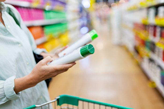 N'achetez pas vos produits capillaires dans un magasin à un dollar.