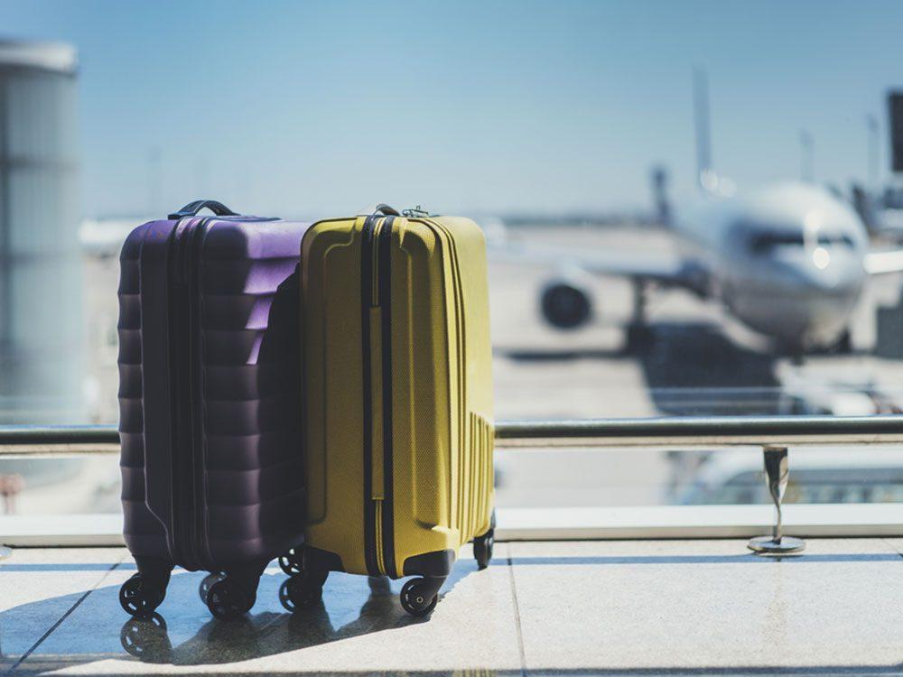 Si votre bagage est vraiment perdu, présentez une demande d'indemnisation.
