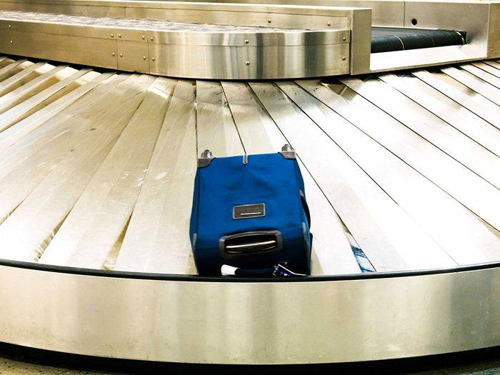 Signalez aussitôt la perte de votre bagage.