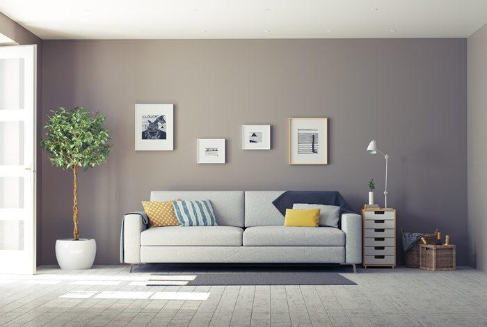 Règle de décoration : contre les murs, les meubles