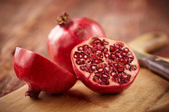 Les fruits à graines et les dents tachées