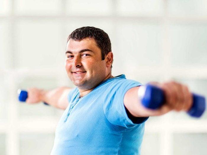 Un métabolisme peut être lent à cause d'un taux de gras trop élevé.