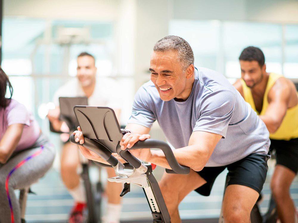 Un métabolisme peut ralentir avec l'âge.