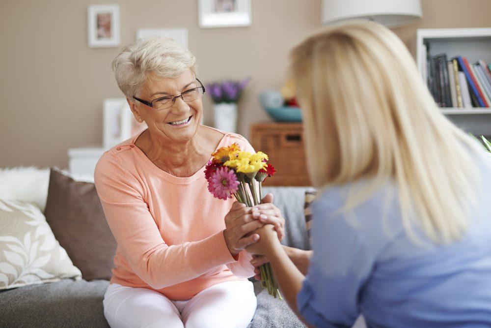 F te des m res quelles fleurs offrir maman selon sa for Offrir un miroir signification