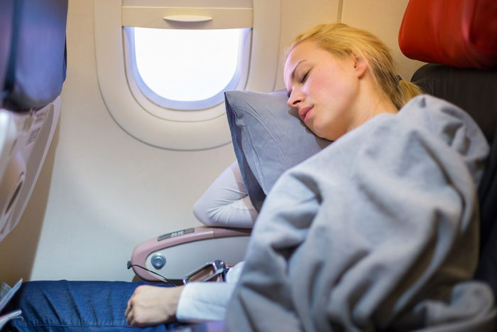 Un long vol peut dérégler votre rythme circadien.