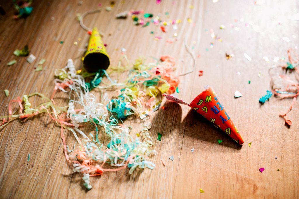 Voici quelques trucs pour limiter le nettoyage après la fête.