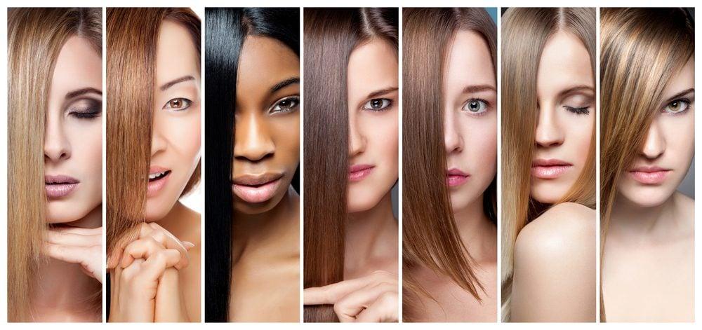 Des couleurs des cheveux
