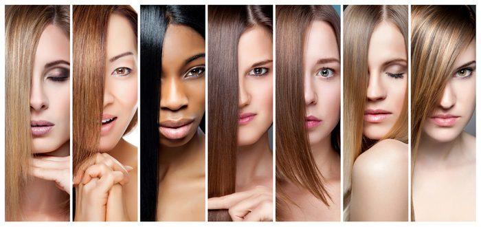 Certains couleurs de cheveux vont mieux aux teints neutres au nuances froides.