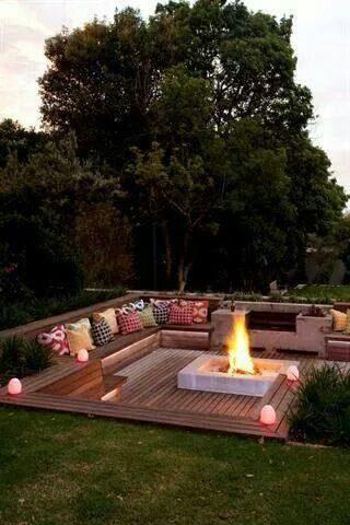 Un patio intérieur