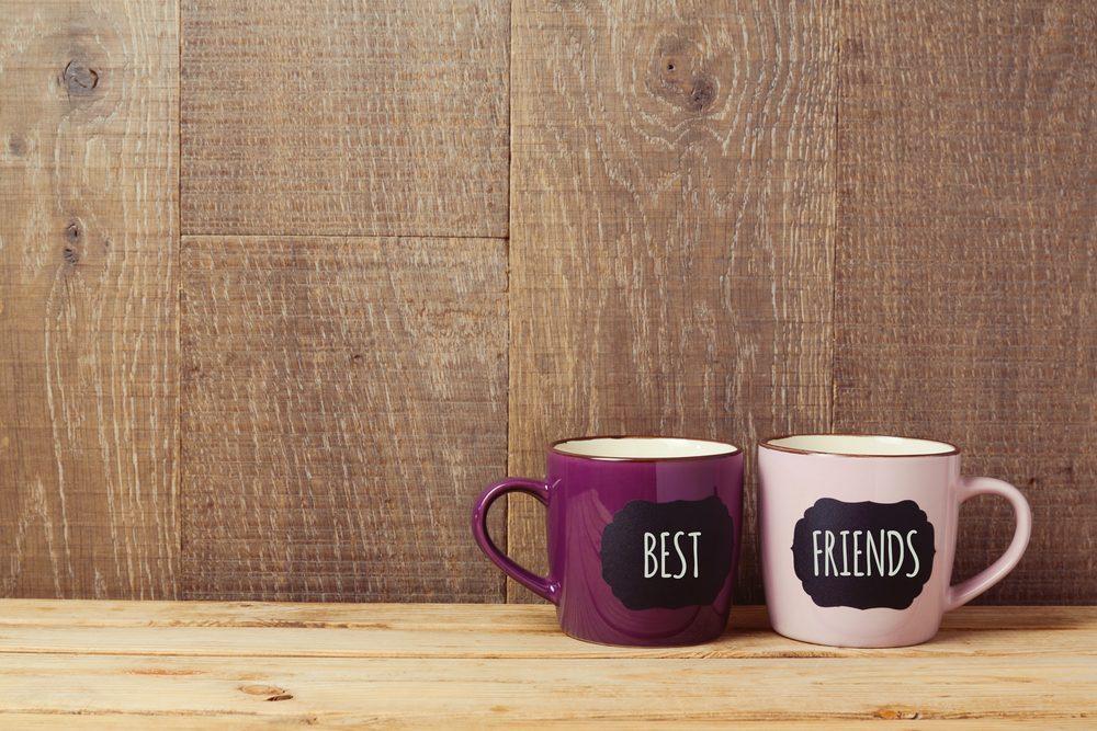 L'amitié est un échange.