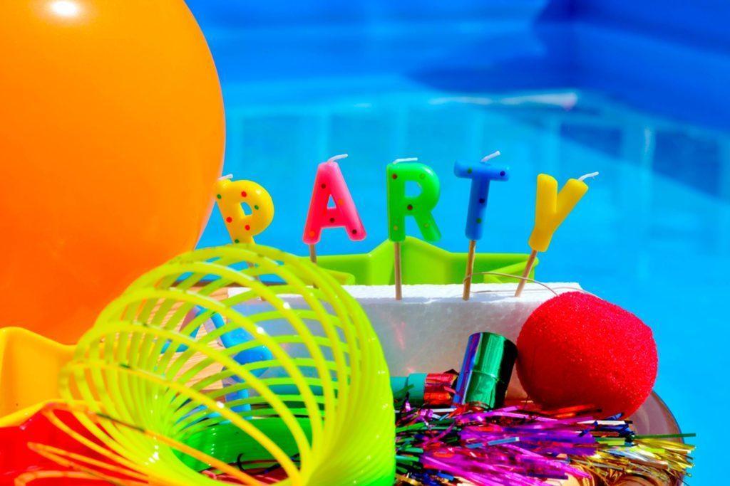 Choisissez un décor estival pour votre fête.
