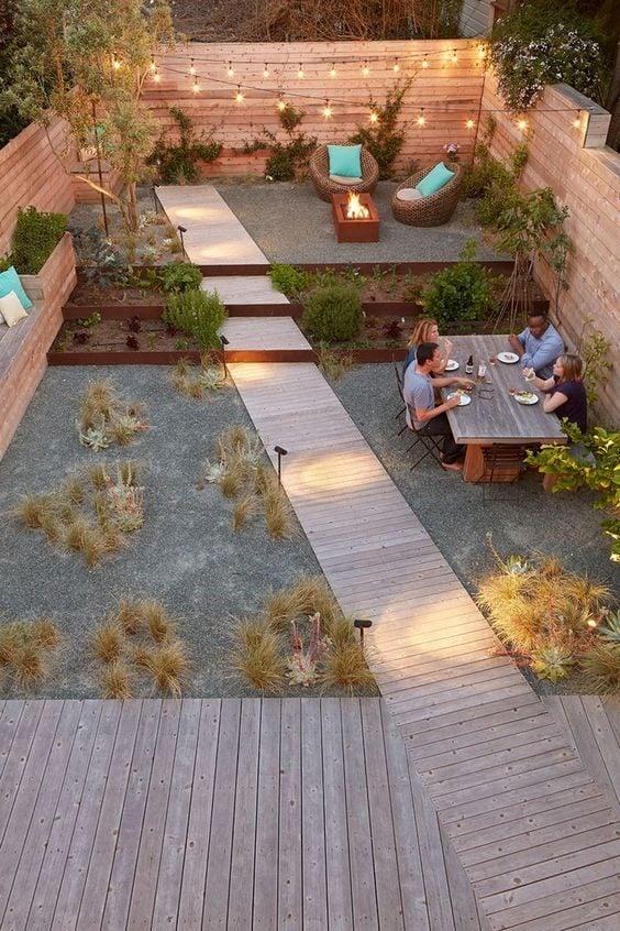 Un jardin sans pelouse