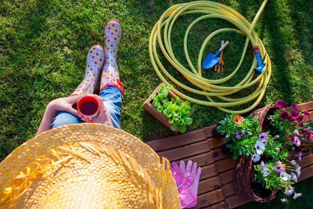 Préparez votre jardin pour recevoir la fête.