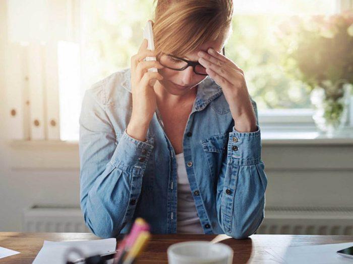 Lorsque vous souffrez d'anxiété, votre inquiétude n'a pas d'utilité.