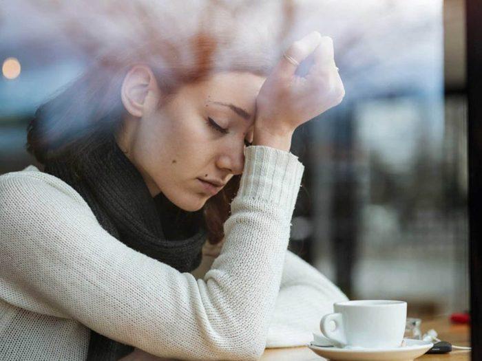 L'anxiété vous prive d'activités sociales.