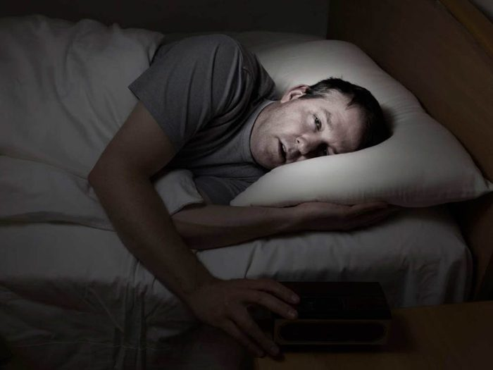 L'anxiété peut troubler le sommeil.