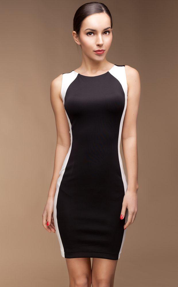 Une robe cintrée, pour un effet minceur