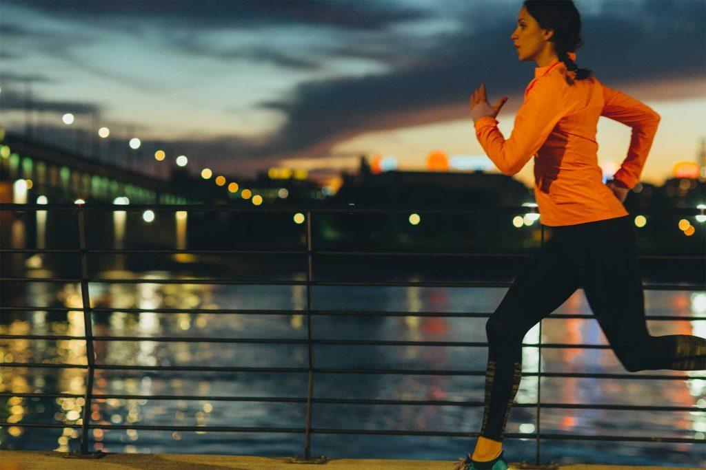 Prévoir des vêtements utile, pour la course