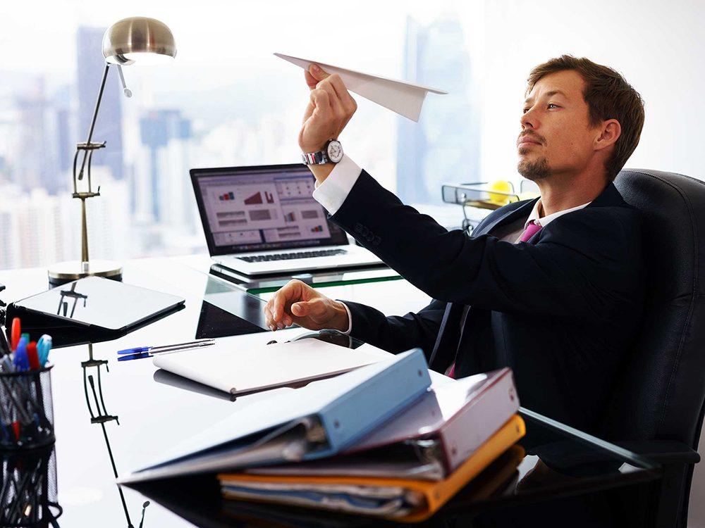 Si vous vous ennuyez c'est peut-être le signe que vous êtes prêts pour un changement de carrière.