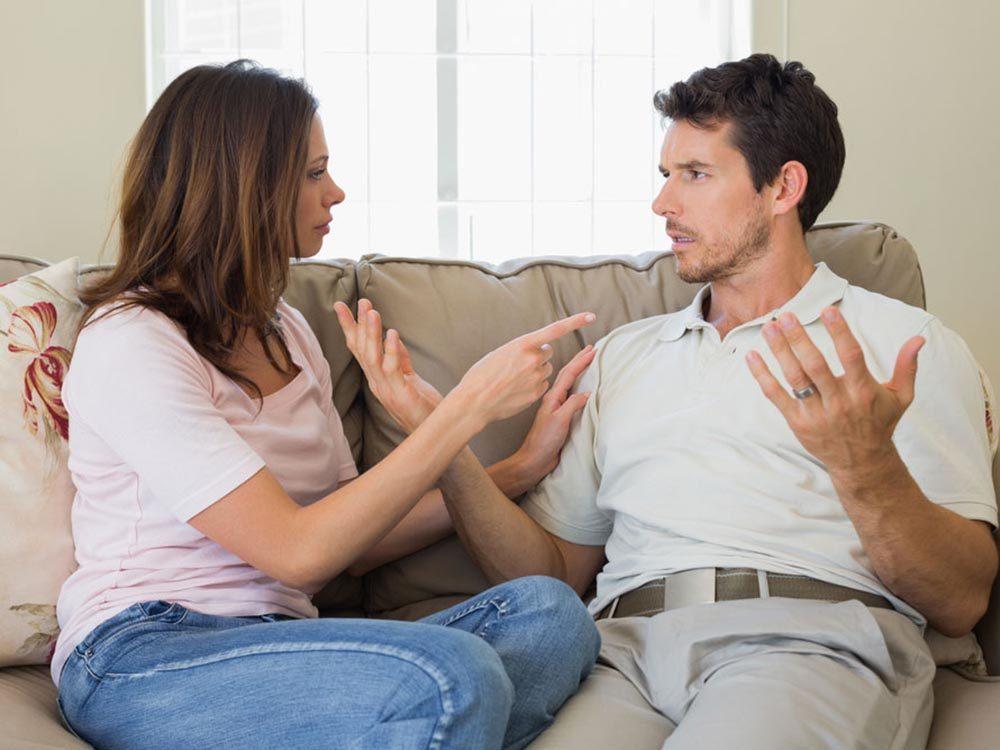 La personne toxique du couple n'assume jamais ses actes.