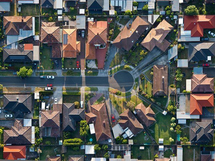 Passer de la marche à la course dans votre quartier.
