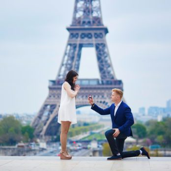 Il est important de faire une demande en mariage originale