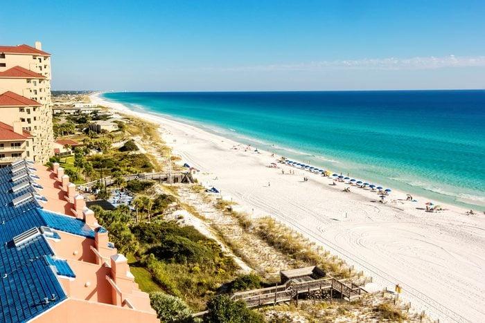 Destinations estivales aux États-Unis: Miramar beach