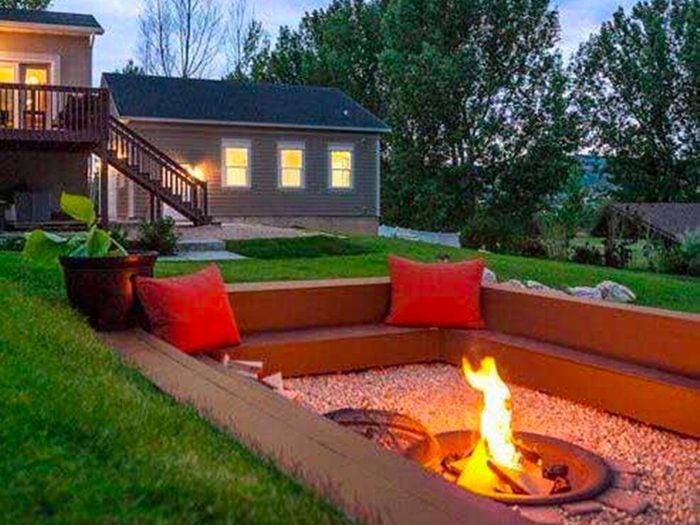 Jardin de rêve: un patio intérieur.