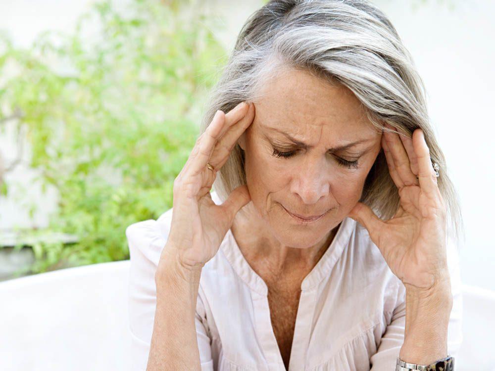 menopause transpiration odeur