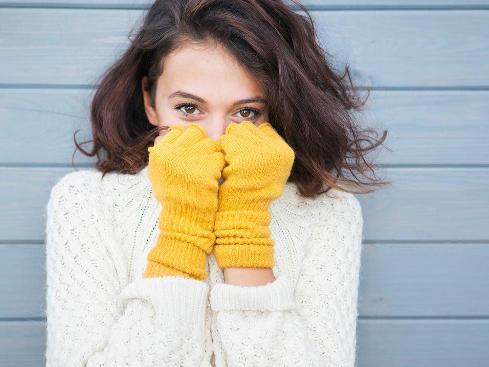 Mythes sur le cancer de la peau: l'hivers, il n'y a aucun risque.