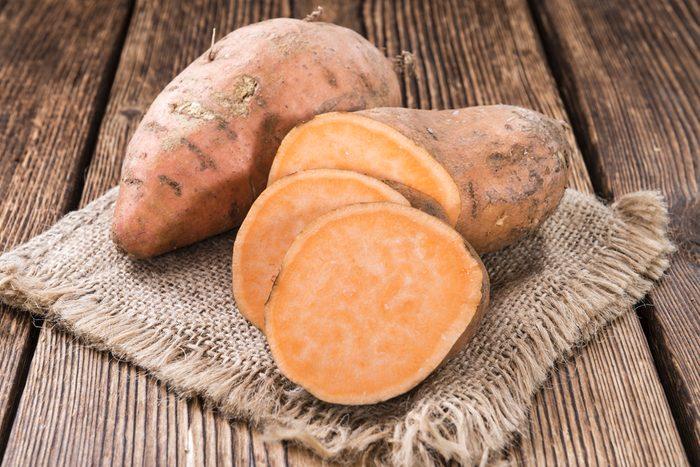 Laxatif naturel: la patate douce