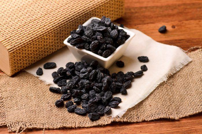 Raisins secs, un laxatif naturel