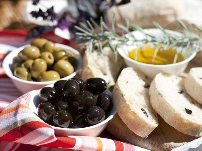 Les recettes méditerranéennes à essayer.