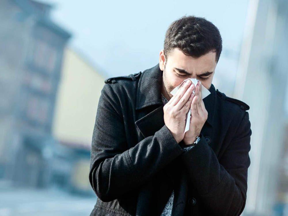 Frissonner peut être un symptôme de septicémie.