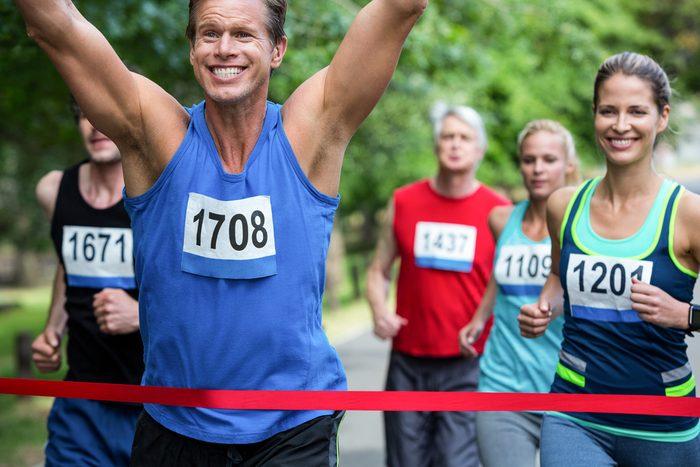 S'inscrire à une course aide à se motiver à courir.